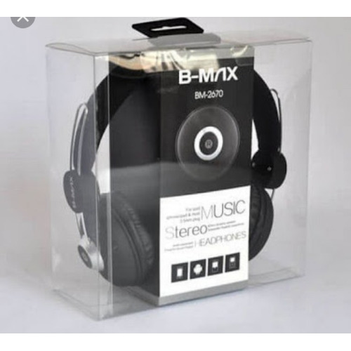 Headphone B-max2670 Com Microfone Smarphone Tablet Mp3 Radio