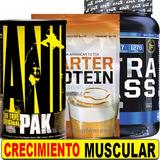 Promo + Masa Animal Pak Proteina Desayuno Starter Gainer Ena