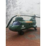 Helicoptero Antigo - Militar - Marca Glasslite - Anos 80