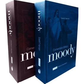 Comentário Bíblico Moody Vol. 1 E 2 - Frete Grátis - Ebr