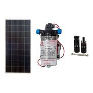 Kit Bomba Solar Shurflo 8000 + Placa Solar 150w + Mc4