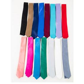 Corbatas Corbatines Vestir Hombres Finas X 10 Unidades Promo
