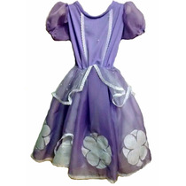Disfraz Princesa Sofia Artesanal T 3/4 Años Jugue Random