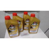 Kit C/4 Litros De Oleo Motor 10w30 Havoline Semi Sintético