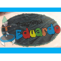 Lona De Salto Malla Cama Elastica Trampolin Brincolin Fitnes