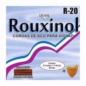 Encordoamento Rouxinol P/ Violao Em Aço - Cordas R20