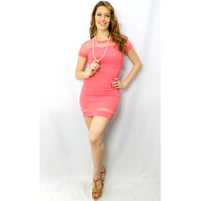 Vestido Juvenil Coral - Holly Fashion