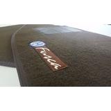 Tapetes Automotivo Fusca Marrom Monocromático Carpete