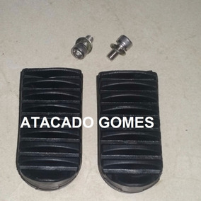 Pedal Pedaleiras Borracha Xtz125 E 250 Lander,tenere,crosser
