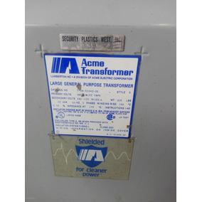 Transformador Tipo Seco 30 Kva 480-220/120 Vac
