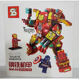 Iron Man Hulkbuster Lego S Grande