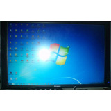 Televisor Monitor Lcd 22 Pulgadas Siragon Tv Plano + Control