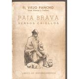 Paja Brava Versos Criollos El Viejo Pancho Alonso Y Trelles