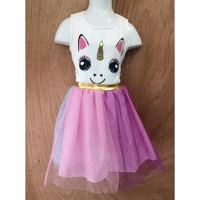 Vestido Unicornio, Hermoso Para Tu Princesa, Tenemos Tallas