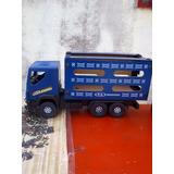 Brinquedo Caminhão Boiadeiro P.a. Carroceria De Madeira