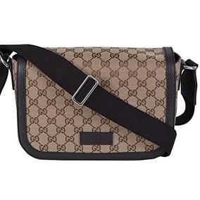 Gucci Unisex Gg Guccissima Canvas Media Messenger Bag (be...