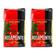Rosamonte Yerba Mate 2 Pack 1kg    2 Kilos