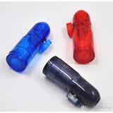 Dosador Bullet Plástico Para Rapé, Super Promoção