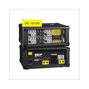 Consola Skp Amplificada 6 Canales Todo Uso Usb Power Phantom