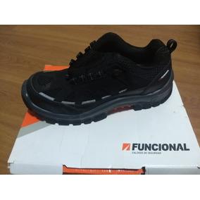 Calzado De Seguridad Lander Funcional Negro