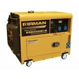 Generador 5 Kva Diesel + Ats, Oferta Fullmak Chile