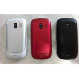 Carcasa Nokia Asha 302 Negro /rojo /blanco