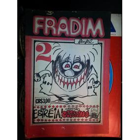 Hq Fradim Nº 2 -estreia! Capitao Zeferino Raro Original 1973