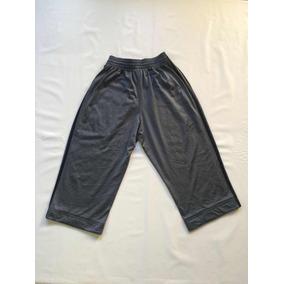 Pants adidas Gris 3/4 Capri Para Hombre