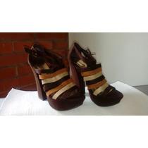 Zapatos De Plataforma Tallas 6 Y 6,5