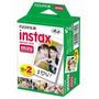 Film Rollo Pack 20 Fotos Instax Mini 8 Fujifilm Fuji