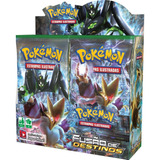 Box 36 Booster Cards Pokémon Xy Fusão De Destinos