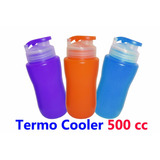 Termos Cooler Plastico Agua 500ml Niños Colegio O Gim