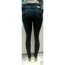 Calça Jeans C/ Lycra Feminina Levanta Bumbum C.média Meitrix