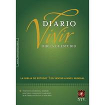 Biblia De Estudio Diario Vivir Ntv / Tapa Dura