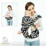 Canguro Asiento Bebé Multifuncional Ergonómico 3 En 1