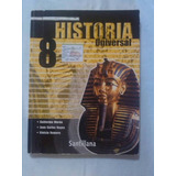 Libro De Historia Universal 8vo Grado Editorial Santillana