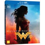 Blu-ray 3d + 2d Mulher Maravilha - Original E Lacrado