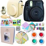 Fujifilm Instax Mini 8 Cámara + Kit Accesorios Colores