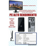 Pc Dell Wifi Alto Rendimiento 16gb Ram I7 Procesador Gamer
