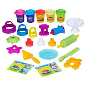 Conjunto Play-doh Hasbro Bolos Decorados