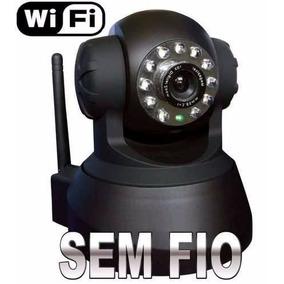 Camera Para Monitoramento De Imagens Sem Fio Ip Wireless