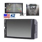 7 Touch Screen 2 Din Auto Car Radio Audio Stereo Mp5 Player