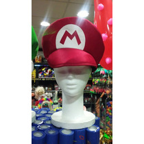 Gorro Super Mario - Tela Excelente Calidad.