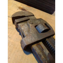Antigua Stillson No 24 The Erie Tool Works Usada En El Tren