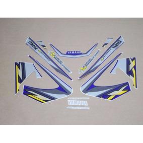 Kit Adesivos Yamaha Xtz 125 2003 Azul