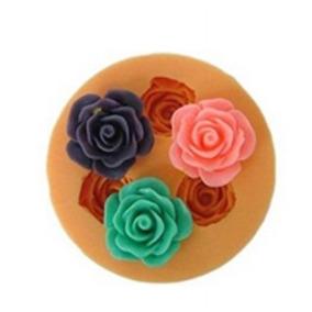 Molde Silicona Flores, Fondant, Porcelana Fría, Yeso, Etc
