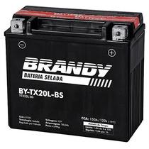 Bateria Brandy Selada By-tx20l-bs (harley Davidson Fat Boy)