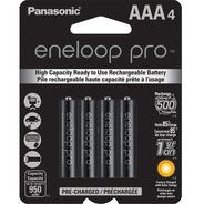 Pilas Recargables Panasonic Eneloop Pro Aaa 950mah Pack X4