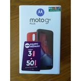 Moto G4 Plus Nuevo/sellado/boleta