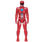 Power Rangers Filme - Boneco Ranger Vermelho 30cm